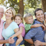 33585853 - three generation family in the country